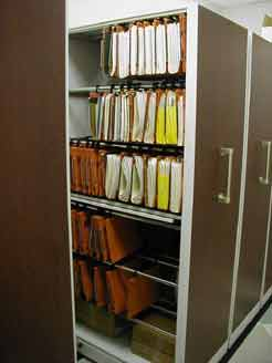 Office High Density Shelving  Manual