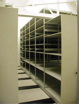 Rolling Shelving for Law Enforcement || Rolling Shelving for Law Enforcement Records